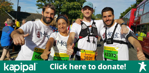 MEETers run for International Mito-Patients Network Donation